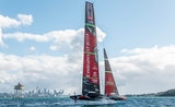America's Cup tracé conflit