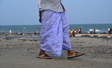 dhoti pondichéry india inde hommes men clothes 4