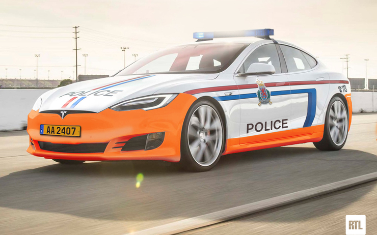 tesla-police-voiture-luxembourg