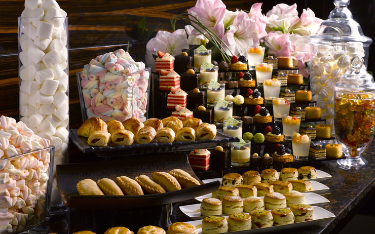 The Grand Astor Afternoon Tea Spread