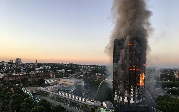 Grenfell Tower - londres - incendie