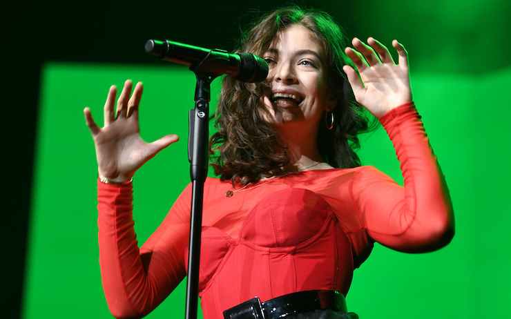 Lorde, star des Vodafone New Zealand Music Awards