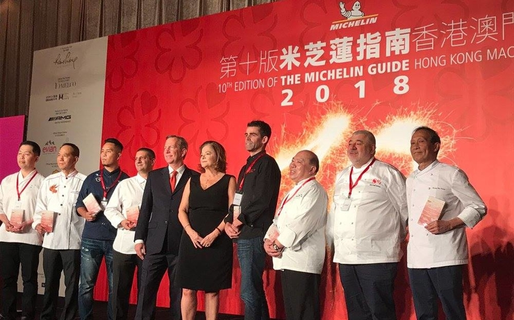 Guide Michelin Hong Kong Macau 2018