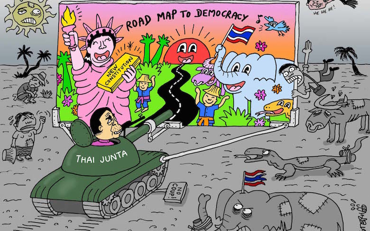 Dessin The Nation Stephff Thailande