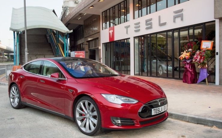 Concession Tesla Hong Kong