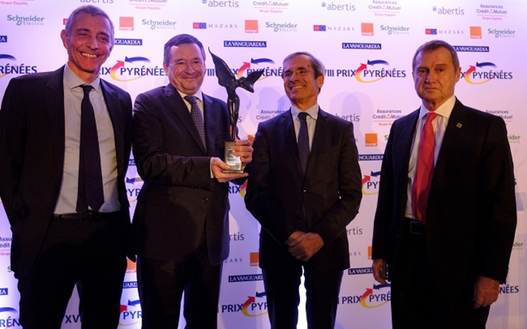 Aguas de barcelona groupe suez re oit le 18e prix for Chambre de commerce de beyrouth