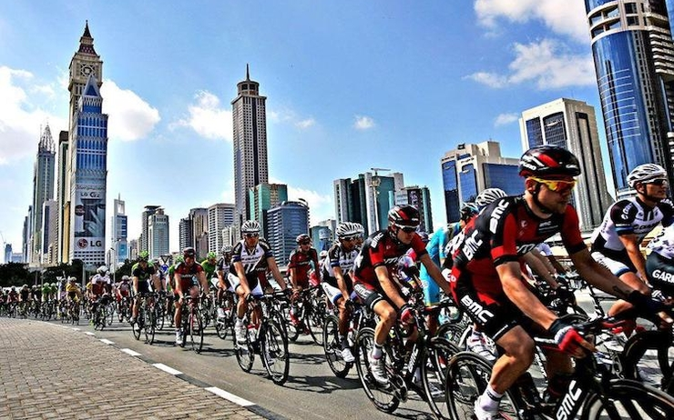 dubai Tour cycling