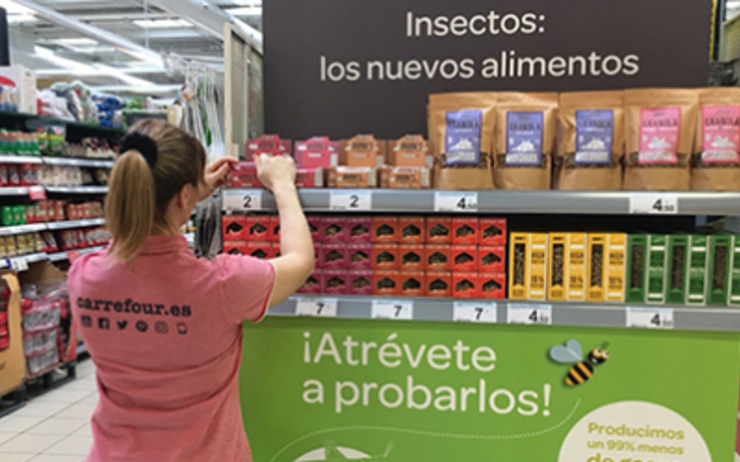 insectes carrefour espagne