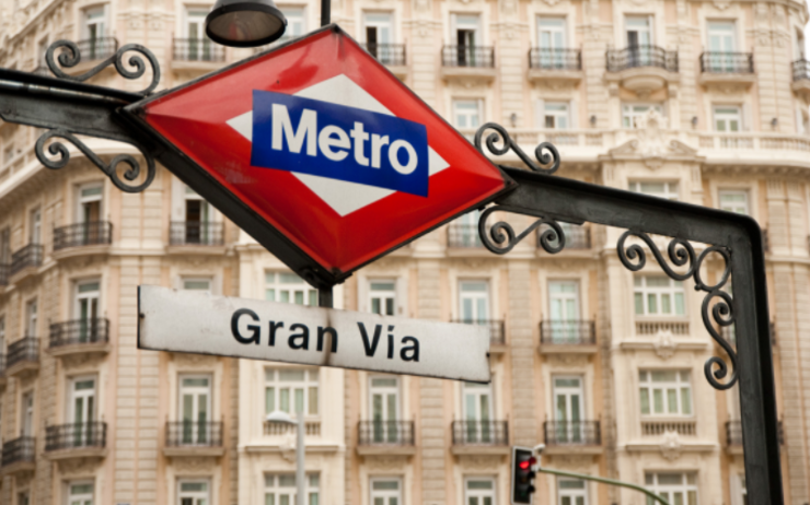 metro gran via madrid