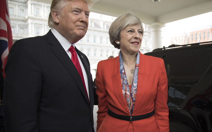Londres - Theresa May - USA - Donald Trump - UK