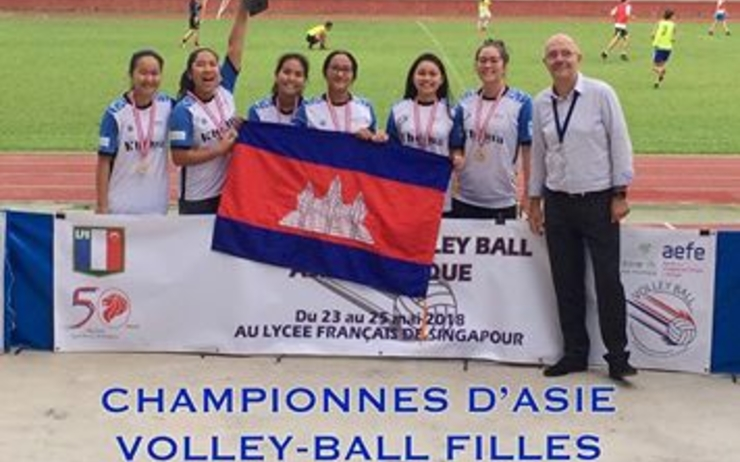 Tournoi volley ball-Singapour-Phnom Penh