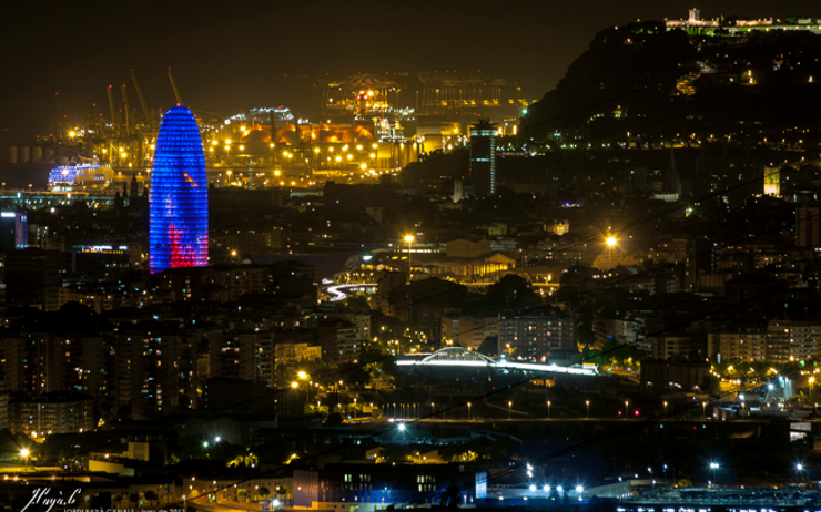 barcelone by night