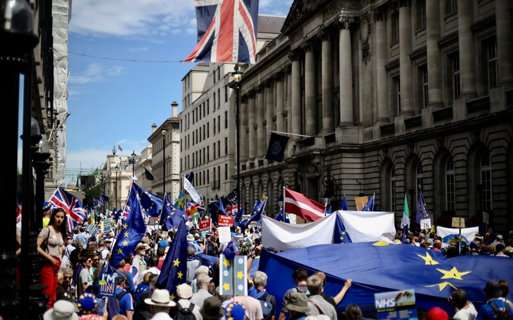 Anti-Brexit - protest - march