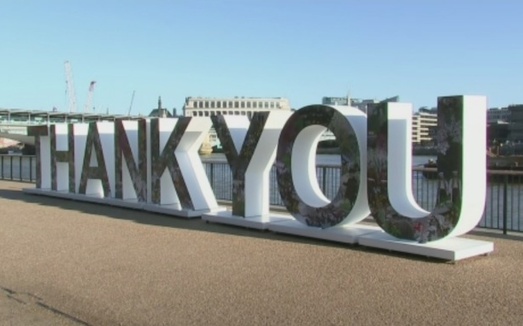 Thank You - London - Sculpture - WWI