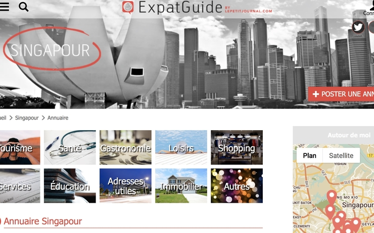 Annuaire expat guide