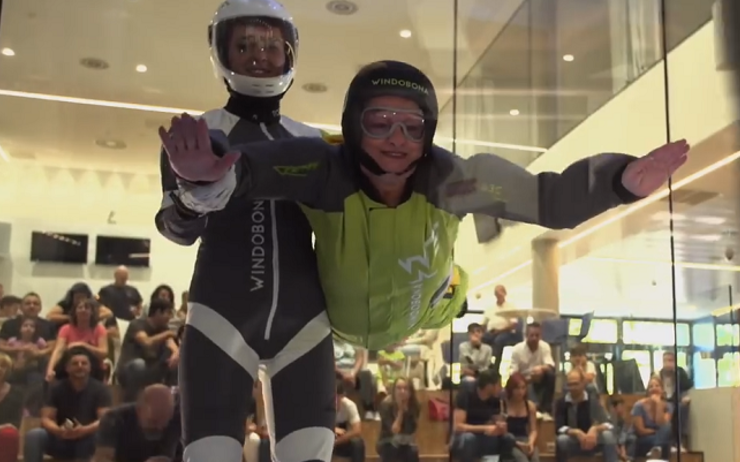 Windobona Indoor skydiving