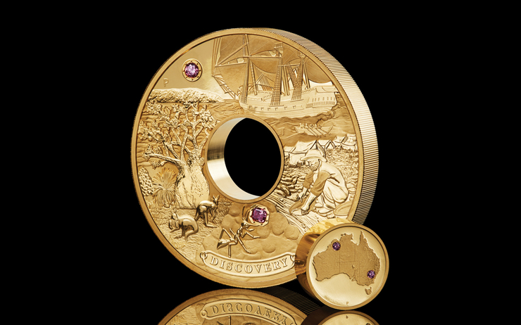 The Perth Mint Australia pièce d'or à 1,5 million d'euros collection Australie