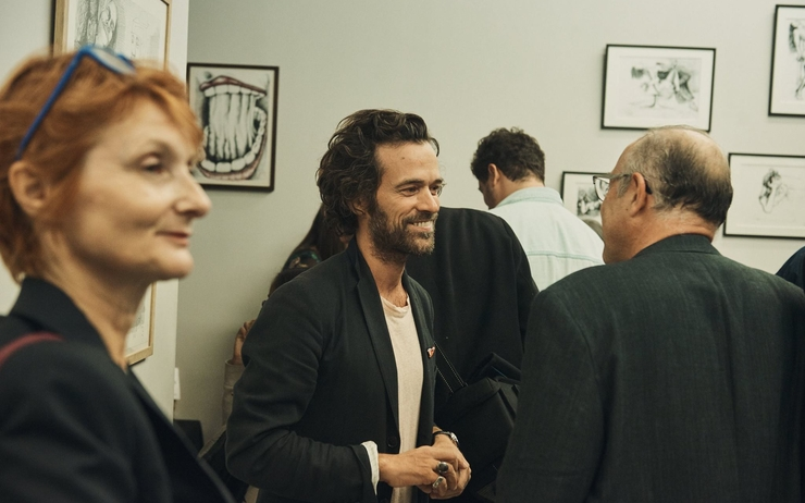 Romain Duris, Alliance française, Singapour