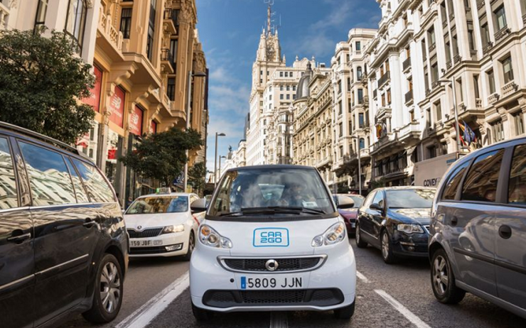 carsharing autopartage madrid