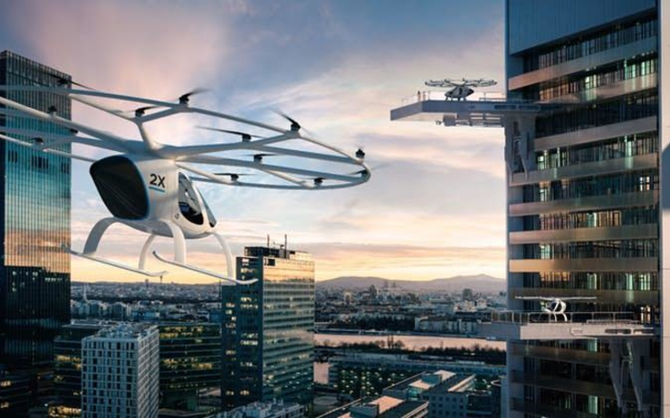 Volocopter, taxi volant, Singapour