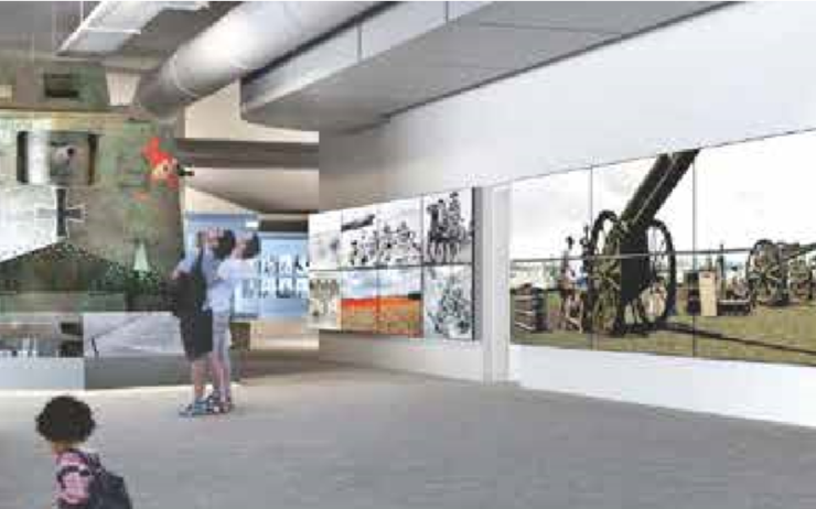 Anzac Gallery Queensland Museum exposition permanente Brisbane