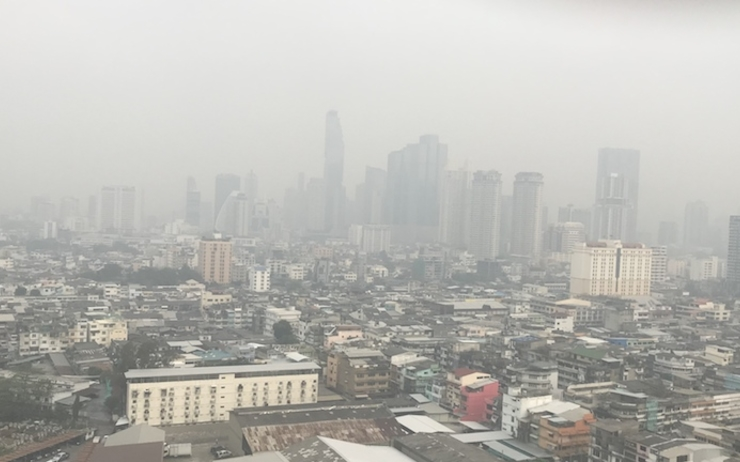 Bangkok-Pollution