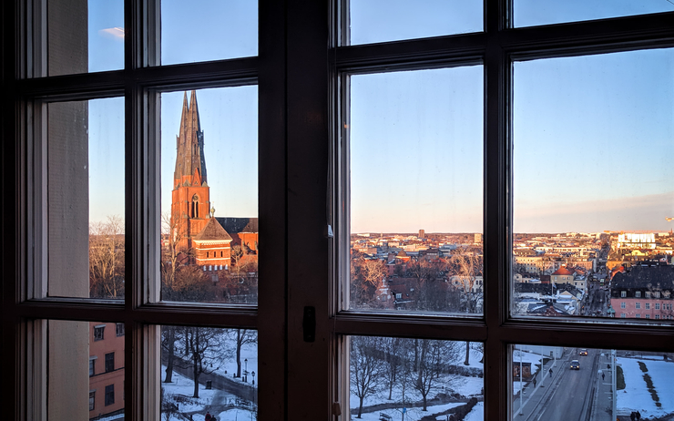 uppsala cathedrale soleil
