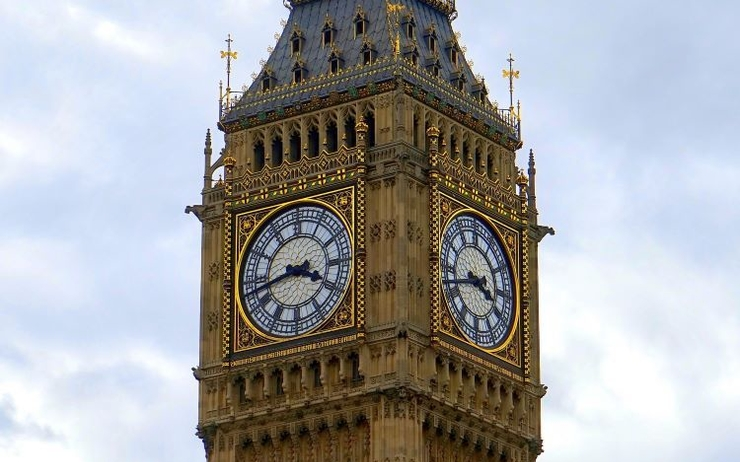 Big Ben cadran nord change couleur rénovations quatre ans Londres horloge