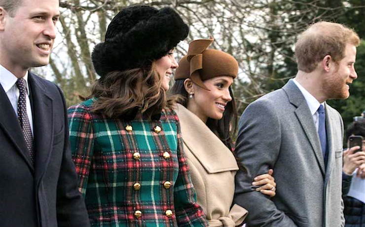 Harry Meghan Kate William tensions déménagement famille royale angleterre