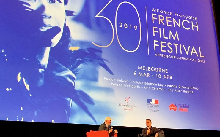 jacques audiard andrew mcgregor the sisters brothers cinema alliance francaise french film festival melbourne australie