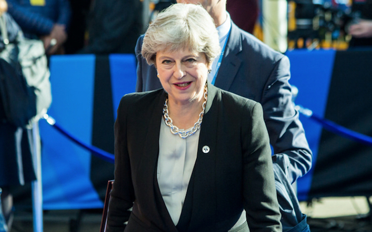 theresa may demande UE report Brexit Royaume-Uni politique accord