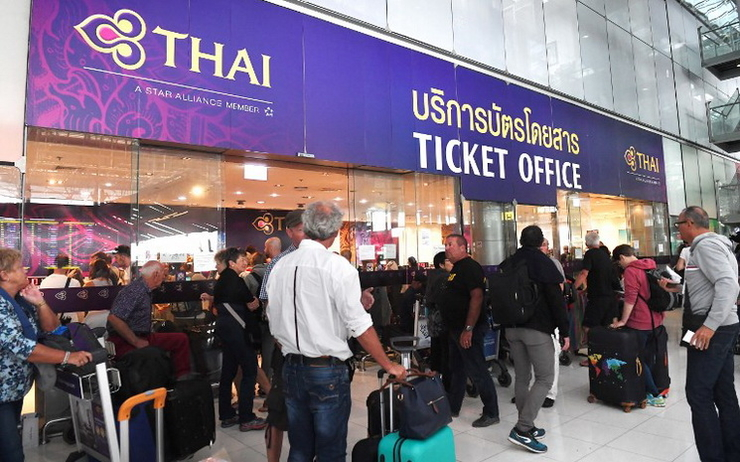 Vols annulés Thai Airways