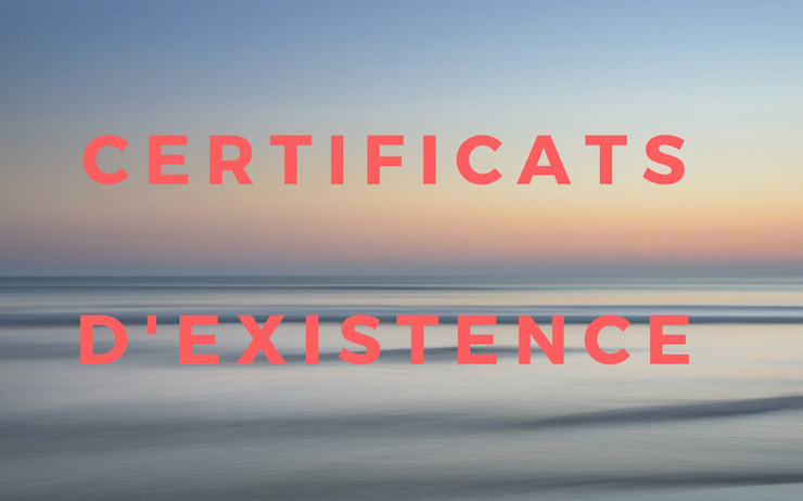 certificats d'existence retraites expatriation