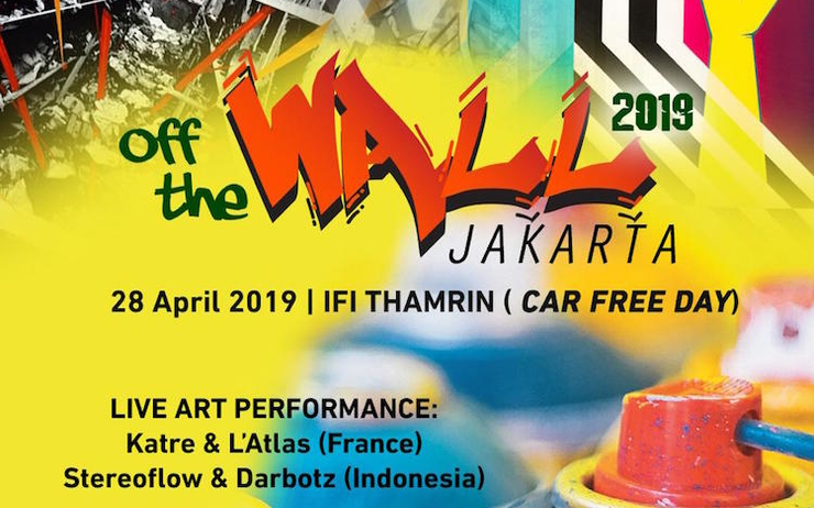 off the wall jakarta fresque art urbain grafitti Darbotz Latlas