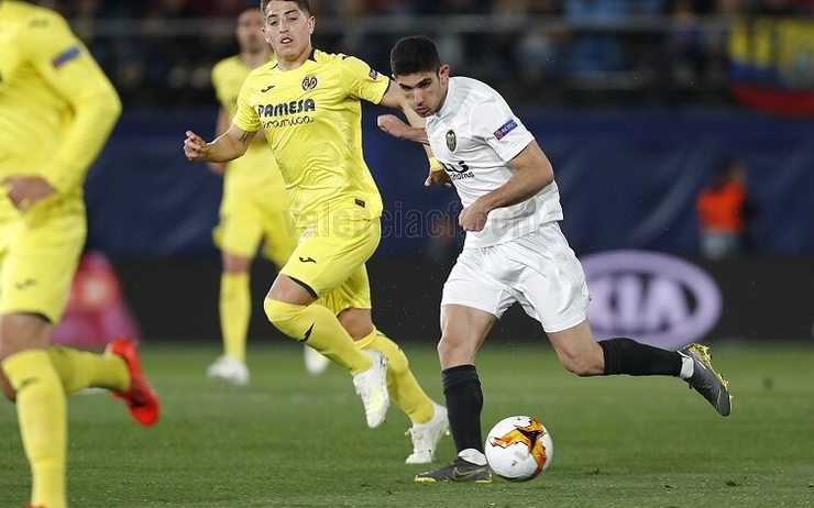 Guedes au top en Europa League