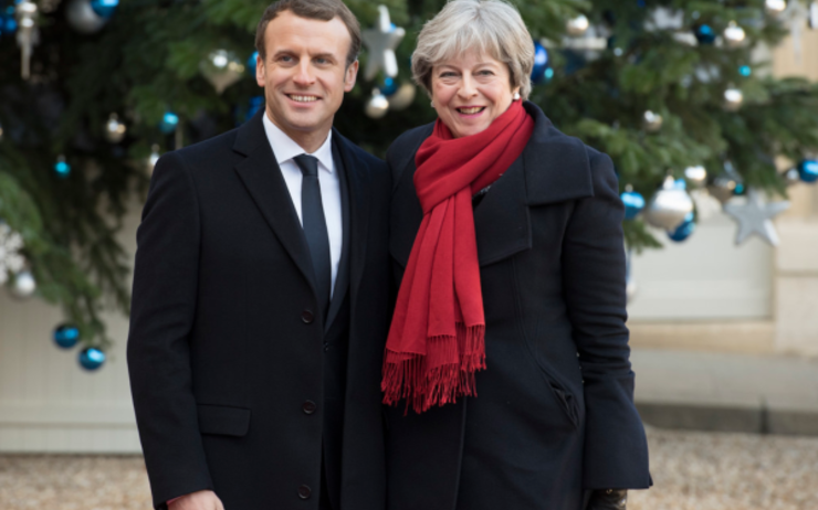 May Macron Brexit report accord Royaume-Uni Europe