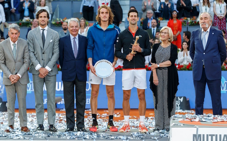 tsitsipas madrid open