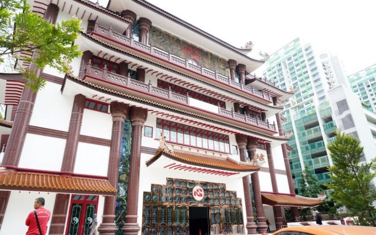 temple multiconfessionnel Sengkang West