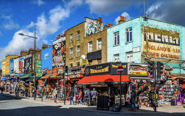 Camden High Street rue piétonne £1 million versés Sadiq Khan