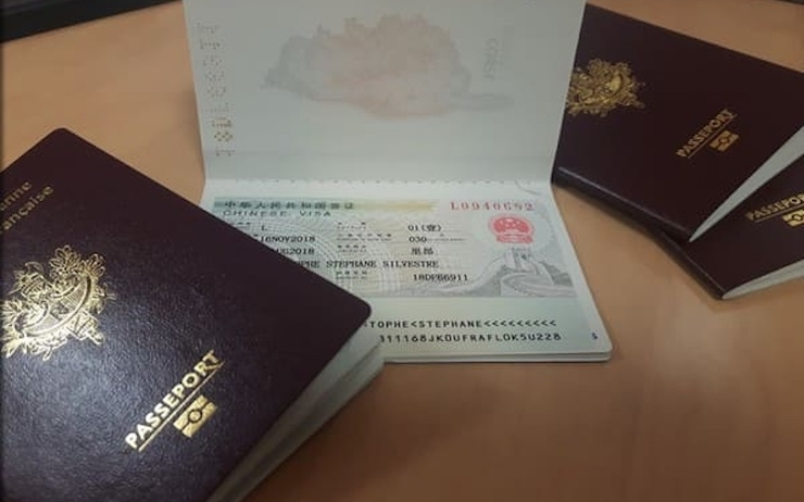 visa chine Hong Kong
