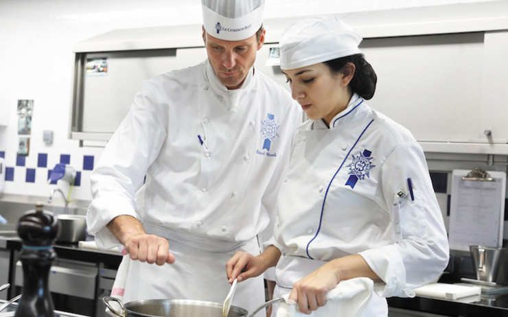 Le Cordon Bleu Paris Chef Caals classe pratique
