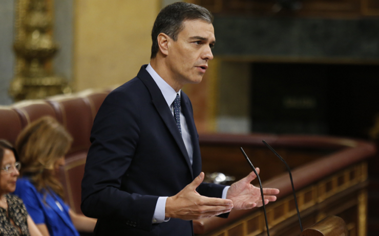 pedro sanchez investiture