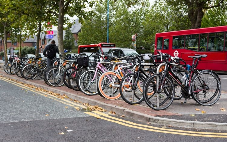 vélo cyclisme londres parking garage