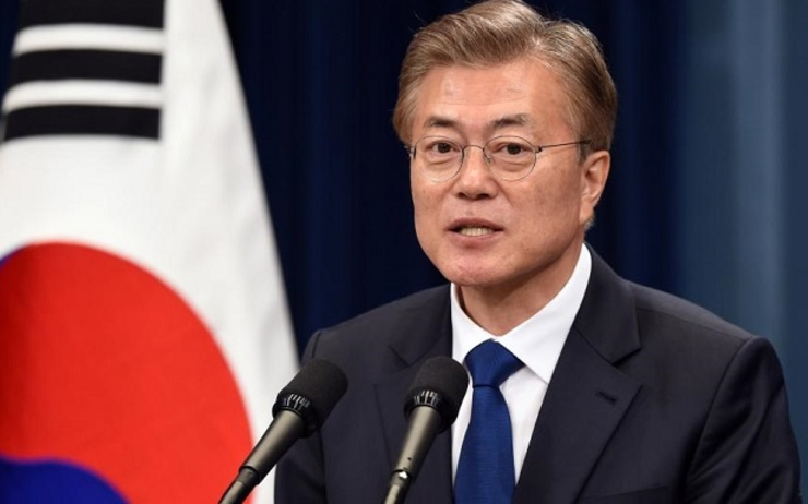 Moon Jae-in en Birmanie