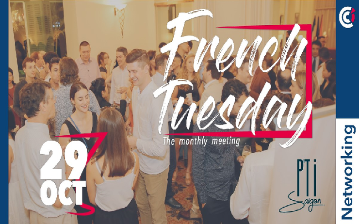 Networking reprise French Tuesday CCIFV mardi 29 octobre