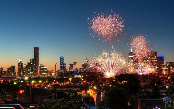 melbourne feu artifice