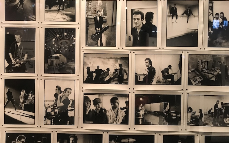 The Clash Londres London Calling musée exposition