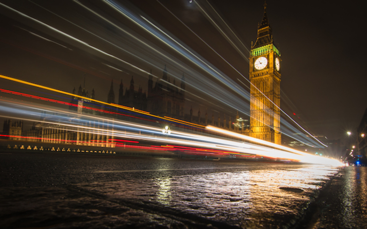 Earth Hour Londres mars