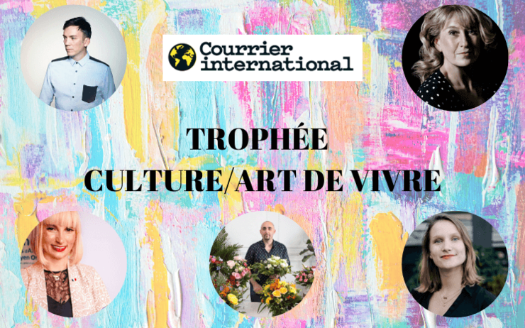 trophée culture art de vivre courrier international