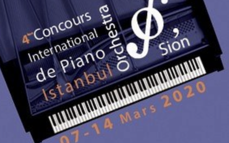 Concours International de Piano Istanbul Orchestra'Sion